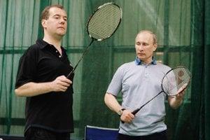 Medvedev a Putin.