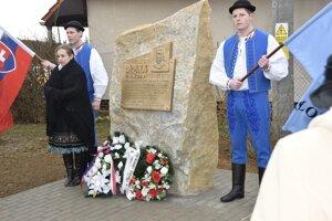 Pamätník J. M. Hurbana v Kálnici.