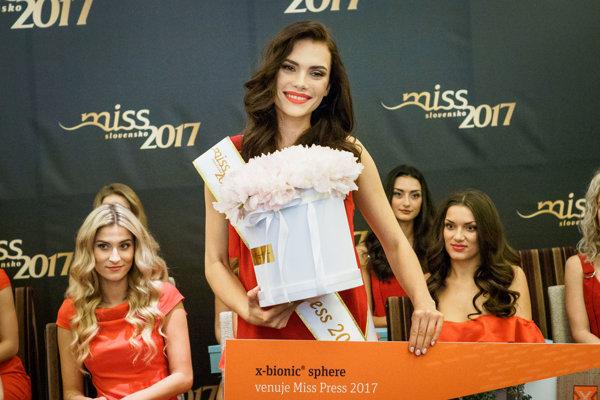 Miss Press Petra Varaliová.