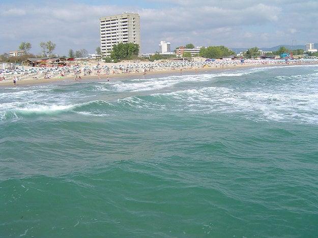 Slnečné pobrežie je veľké a rozvinuté letovisko.