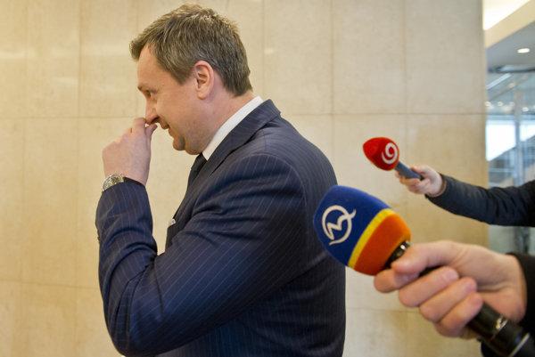 Predseda parlamentu Andrej Danko kauzu otvárania pošty v parlamente za týždeň ešte nevysvetlil.
