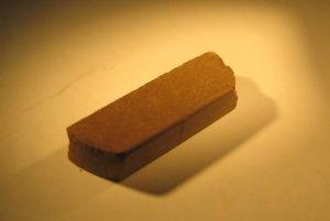 Tehlička zo simulovanej pôdy Marsu.