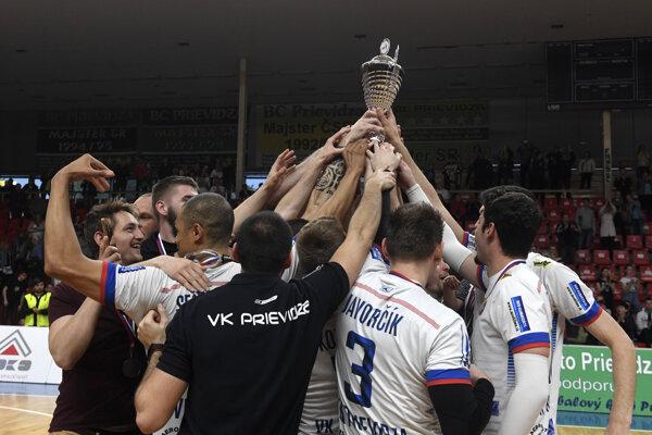Volejbalisti Prievidze dosiahli historický úspech.