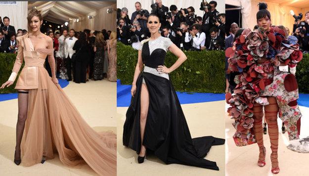 Gigi Hadid, Celine Dion a Rihanna