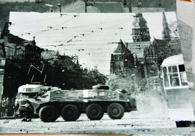 Tibor Kováč. Zaznamenal dianie 21. augusta 1968 na Námestí osloboditeľov.