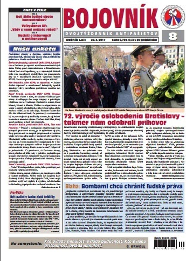 Posledné vydanie Bojovníka.