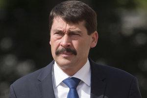 Maďarský prezidentJános Áder.