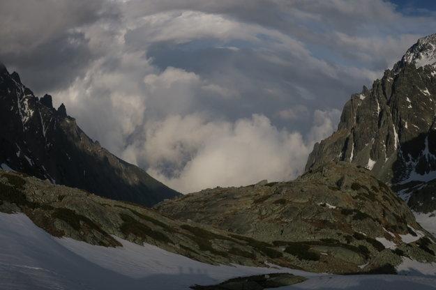 Pohľad do Veľkej studenej doliny.