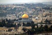Chrámová hora v Jeruzaleme.