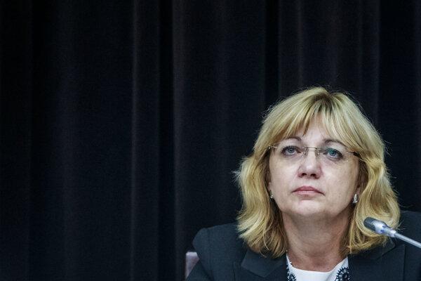 Bývalá predsedníčka Súdnej rady Jana Bajánková.
