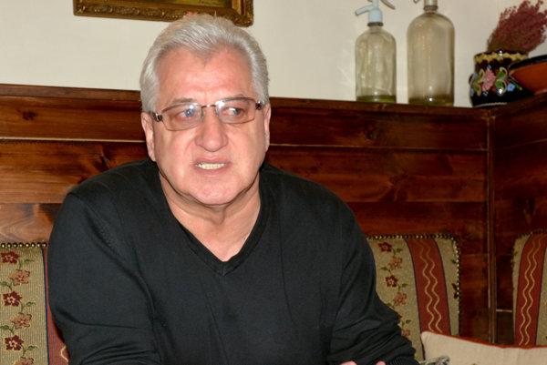 Vincent Lukáč. Výkony Slovákov vprvých troch zápasoch označil za tragické.