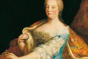 Mária Terézia ako kráľovná Uhorska.