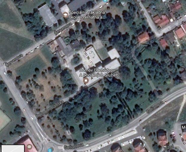 Okolo Borinky je veľký park. Podľa predbežného návrhu mal kostol stáť zo strany Červeňovej ulice.