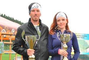 Absolútni víťazi – Pavol Orolin aLenka Baronová.