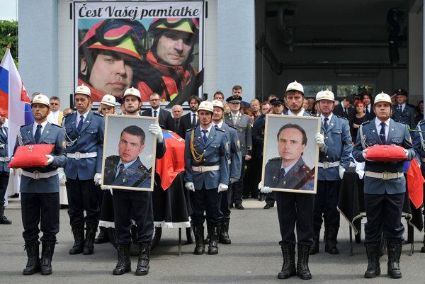 Posledná rozlúčka s hasičmi bola v utorok v Prešove