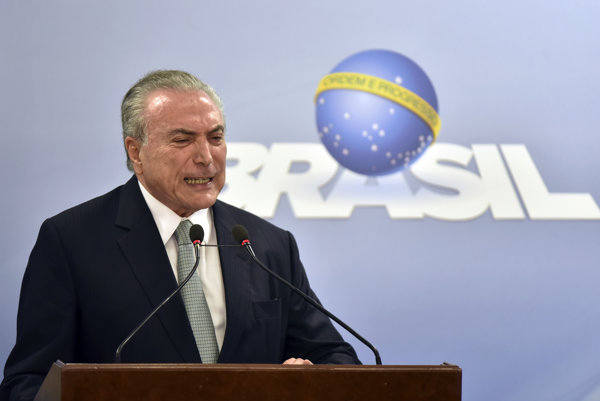 Brazílsky prezident Michel Temer.