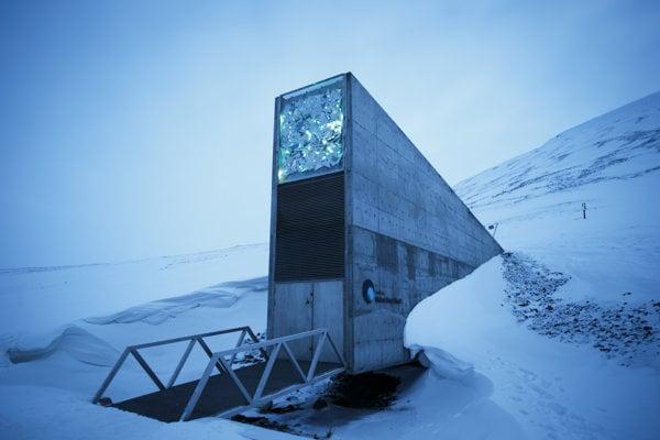 Svetový sklad semien v Svalbarde je ohrozený globálnym otepľovaním.