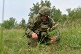 Ukladanie mín, streľba, príprava na povodne. Takto cvičia aktívne zálohy