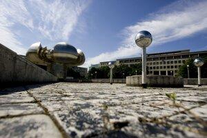 Námestie slobody v Bratislave.