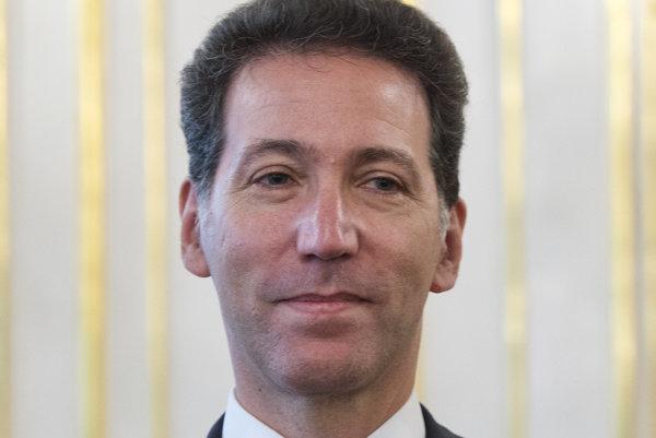 Americký veľvyslanec na Slovensku Adam Sterling.