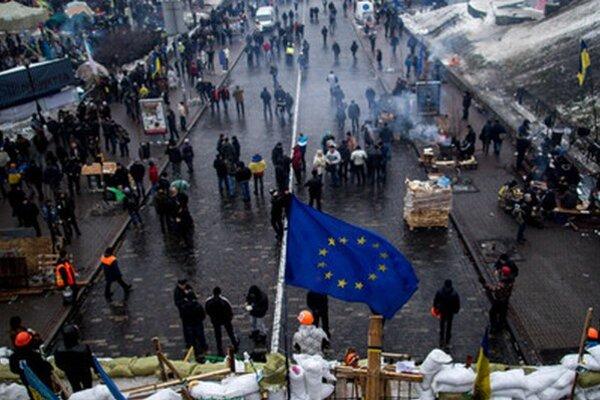 Kyjevský Majdan.