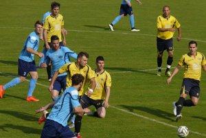 Zo zápasu Štúrovo - Nitra B 2:1