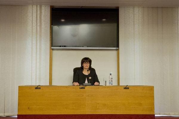 Kandidátka a súčasná predsedníčka Zita Táborská.