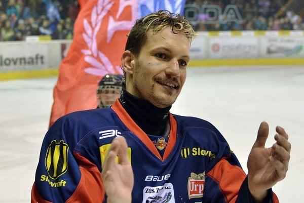 Michal Chovan počas majstrovskej sezóny HKM (ilustračné)
