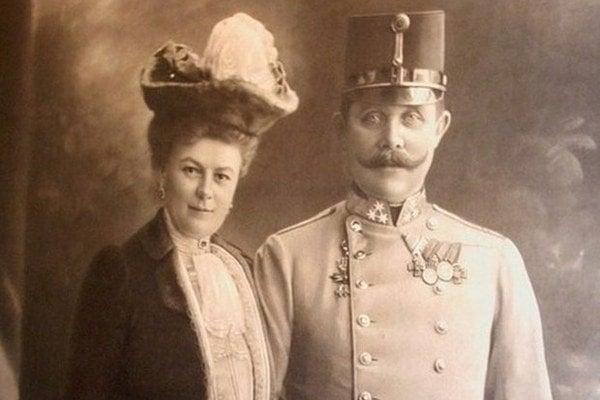 František Ferdinand d´Este s manželkou Žofiou.
