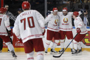 Bieloruskí hokejisti sa dočkali kritiky od prezidenta.