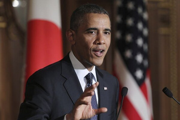 Barack Obama v japonskom Tokiu.