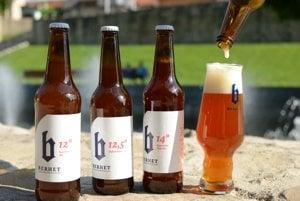 Pivá z pivovaru Berhet.