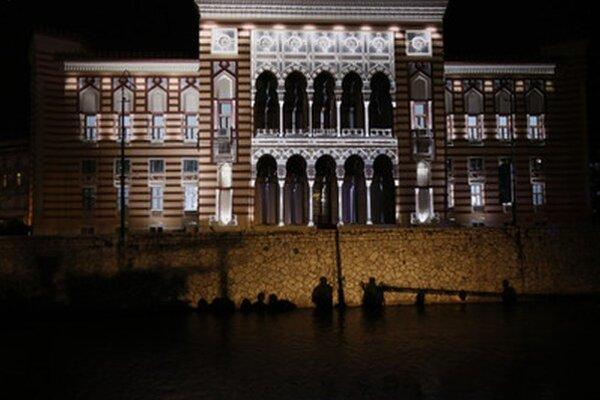 Budova sarajevskej radnice bola otvorená ešte koncom 19. storočia.