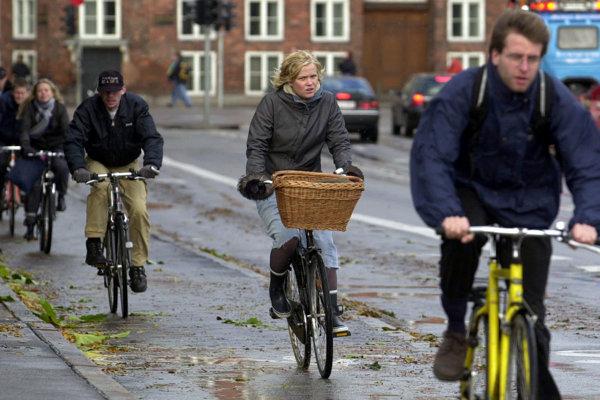 Kodaň je mestom cyklistov.