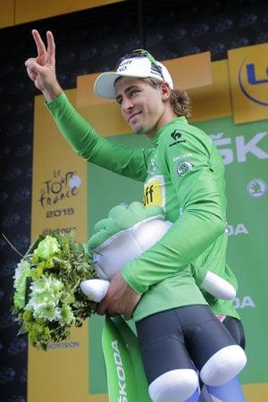 Slovenský cyklista Peter Sagan získal zelený dres päťkrát. Vlani ho však z Tour de France vylúčili.