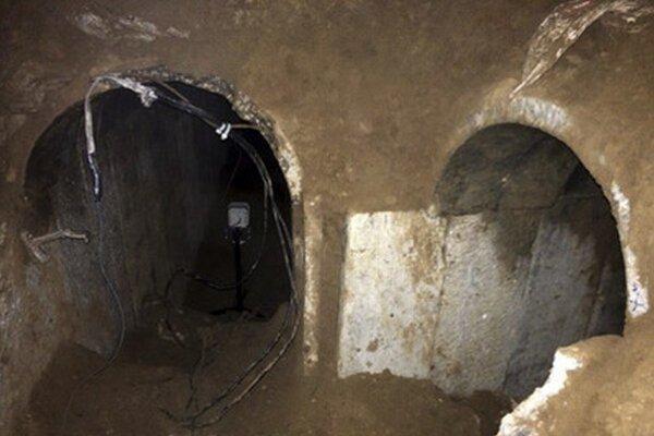 Tunel bol vykopaný v pásme Gazy a viedol až do Izraela.