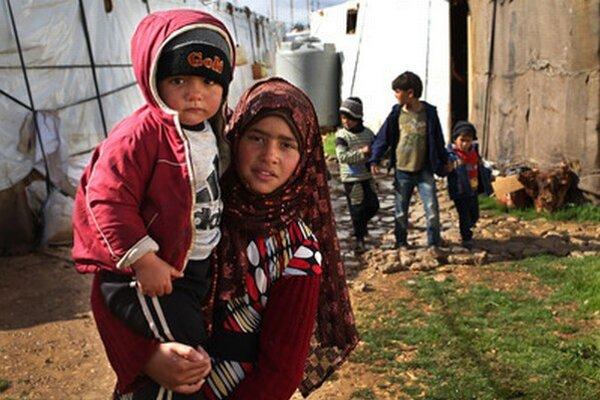 V Libanone žije viac než milión sýrskych utečencov.
