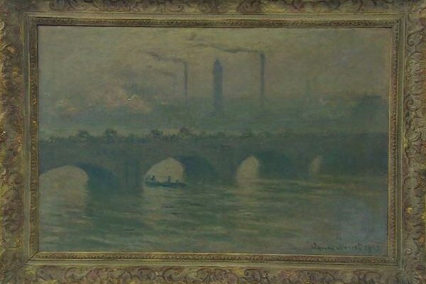 Most Waterloo od Moneta.