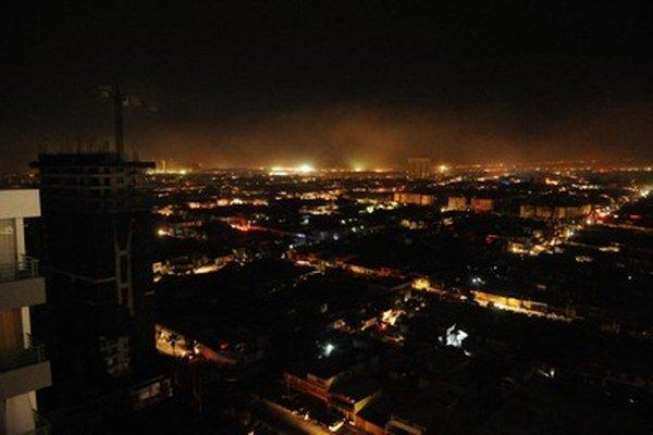 Čílske mesto Iquique.