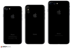 Zadná strana iPhone 7, iPhone 8 a iPhone 7 Plus.