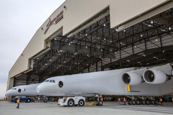 Stratosférické lietadlo spoločnosti Stratolaunch Systems Corporation.