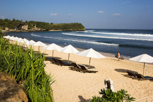 Indonézia, ostrov Bali.