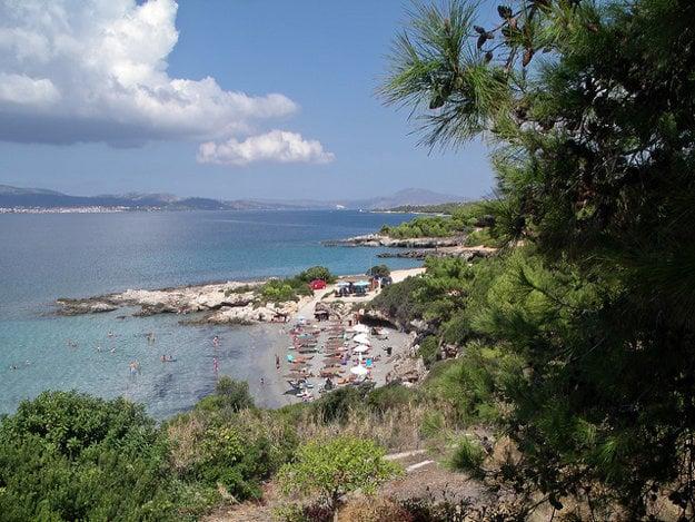 Ostrov Kefalónia.