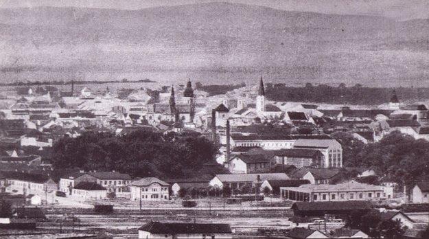 Pohľad na Košice z východu.