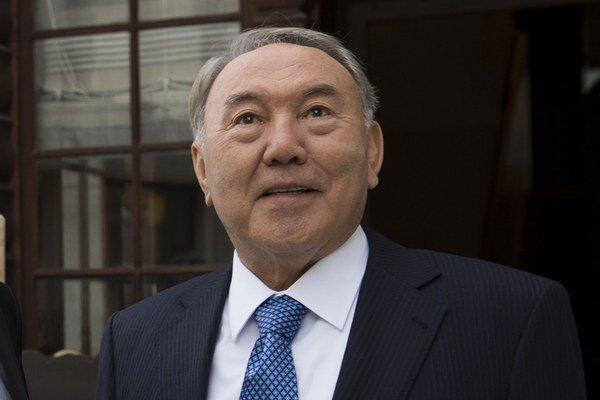 Kazašský prezident Nursultan Nazarbajev.