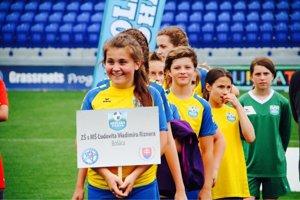 Dievčatá z Bošáce boli na turnaji jediným dedinským družstvom.