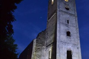 Noc kostolov na Katarínke.