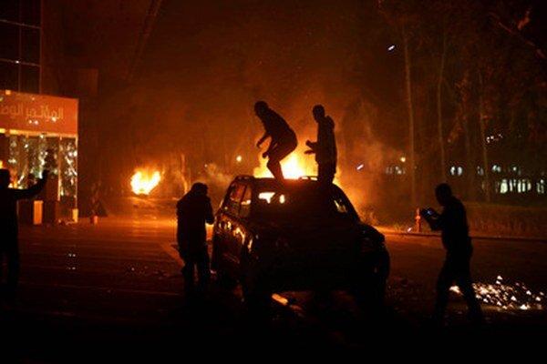 Nepokoje v Tripolise.