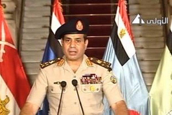 Generál Sísí oznámil Egypťanom zosadenie prezidenta Muhammada Mursího.