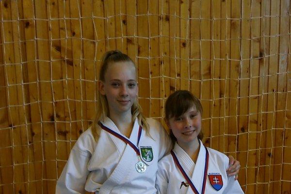 Vanesa Jankurová (vpravo) získala zlato.